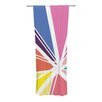 KESS InHouse Boldly Bright Curtain Panels (Set of 2)