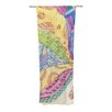KESS InHouse The Painted Quilt Curtain Panels (Set of 2)