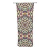KESS InHouse Plum Lace Curtain Panels (Set of 2)