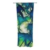 KESS InHouse Leaves Curtain Panels (Set of 2)