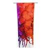 KESS InHouse Rainbow Splatter Curtain Panels (Set of 2)