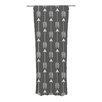 KESS InHouse Tribal Arrows Curtain Panels (Set of 2)