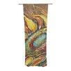 KESS InHouse Sunflower Curtain Panels (Set of 2)