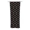 KESS InHouse Tiled Mono Curtain Panels (Set of 2)