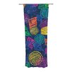 KESS InHouse African Beat Curtain Panels (Set of 2)