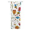 KESS InHouse Bees Curtain Panels (Set of 2)