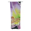 KESS InHouse Violet and Lemon Curtain Panels (Set of 2)
