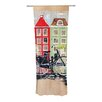 KESS InHouse Bicycle Curtain Panels (Set of 2)