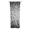KESS InHouse Paisley Curtain Panels (Set of 2)