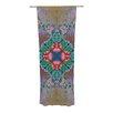 KESS InHouse Flowery Curtain Panels (Set of 2)