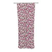 KESS InHouse Wineberry Curtain Panels (Set of 2)