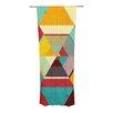 KESS InHouse Color Mess Curtain Panels (Set of 2)