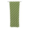 KESS InHouse Deco Calla Lily Curtain Panels (Set of 2)