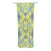 KESS InHouse Joyful Teal Curtain Panels (Set of 2)
