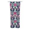 KESS InHouse Turkish Vase Curtain Panels (Set of 2)