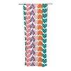 KESS InHouse Hearts Curtain Panels (Set of 2)