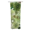 KESS InHouse Green Thumb Curtain Panels (Set of 2)