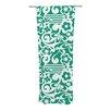 KESS InHouse Emerald Curtain Panels (Set of 2)