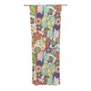 KESS InHouse Printemps Curtain Panels (Set of 2)