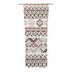 KESS InHouse Tribal Native in Pastel Brown Curtain Panels (Set of 2)