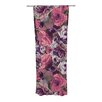 KESS InHouse Rose Stripe Curtain Panels (Set of 2)