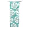 KESS InHouse Hydrangea's Blossoms Curtain Panels (Set of 2)