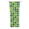 KESS InHouse Noblefur Curtain Panels (Set of 2)