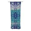 KESS InHouse Aqua Snake Curtain Panels (Set of 2)