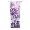 KESS InHouse Lilac Curtain Panels (Set of 2)