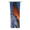 KESS InHouse Volcano Girl Curtain Panels (Set of 2)