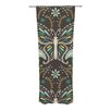 KESS InHouse Butterfly Garden Curtain Panels (Set of 2)