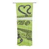 KESS InHouse Mixtape Curtain Panels (Set of 2)