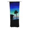 KESS InHouse Carlsbad State Beach Curtain Panels (Set of 2)