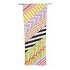 KESS InHouse Diagonal Tape Curtain Panels (Set of 2)