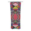 KESS InHouse African Motif Curtain Panels (Set of 2)