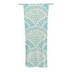 KESS InHouse Heathered Scales Curtain Panels (Set of 2)