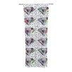 KESS InHouse Polka Dot Diamonds Curtain Panels (Set of 2)