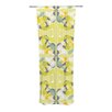 KESS InHouse Spring Flourish Curtain Panels (Set of 2)
