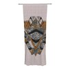 KESS InHouse Indian Feather Curtain Panels (Set of 2)