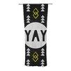 KESS InHouse Yay Curtain Panels (Set of 2)