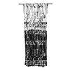 KESS InHouse Century City Splatter Curtain Panels (Set of 2)