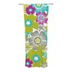 KESS InHouse Little Bloom Curtain Panels (Set of 2)