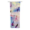 KESS InHouse Flamingo in Flight Curtain Panels (Set of 2)