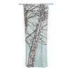 KESS InHouse Winter Trees Curtain Panels (Set of 2)