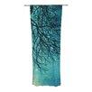 KESS InHouse Winter Moon Curtain Panels (Set of 2)