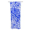 KESS InHouse Bloom Blue for You Curtain Panels (Set of 2)