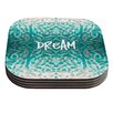 KESS InHouse Tattooed Dreams by Caleb Troy Coaster (Set of 4)