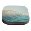 KESS InHouse The Wave by Bree Madden Coaster (Set of 4)