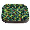 KESS InHouse Fruit and Fun by Akwaflorell Coaster (Set of 4)