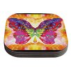 KESS InHouse Butterfly Spirit by Anne LaBrie Coaster (Set of 4)